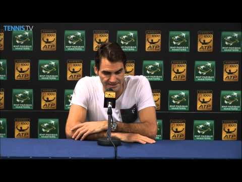 Paris - Roger Federer talks about his quarter-final loss to Milos Raonic at the BNP Paribas Masters on Friday. Watch live matches at http://www.tennistv.com/