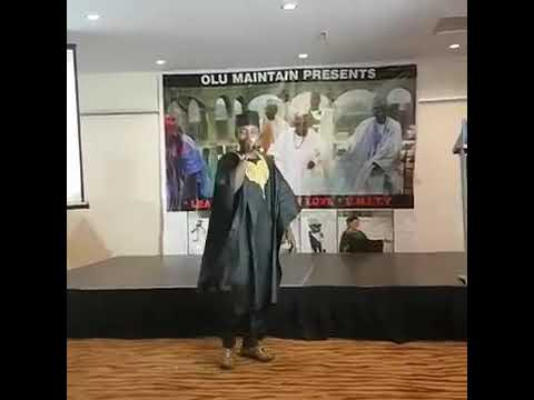 UMAR M SHARIFF A LAGOS VIDEO
