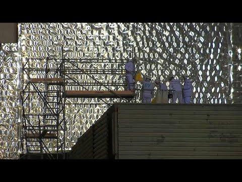 Τσερνόμπιλ: Νέα κατασκευή που προφυλάσσει από την διαρροή ραδιενέργειας…