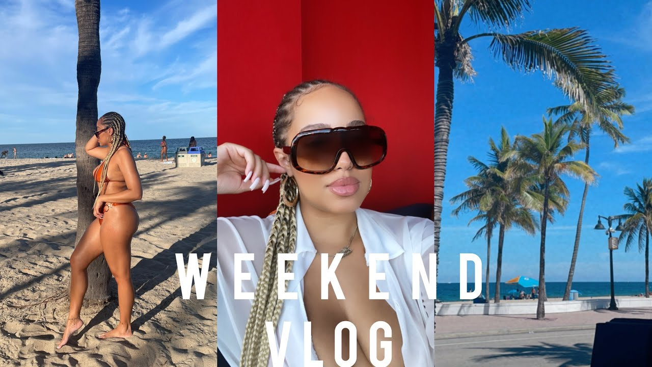 Weekend Vlog | Pole Dancing Class | Beach Day | 2000's Cookout