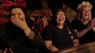 Watch Johnny Depp surprise fans as Captain Jack Sparrow aboard the Pirates of the Caribbean attraction in Disneyland. See Dead Men Tell No Tales in cinemas now. #PiratesLife