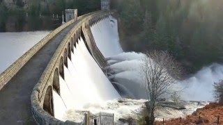 Laggan United Kingdom  city images : The Laggan Dam after storm Frank (4K)