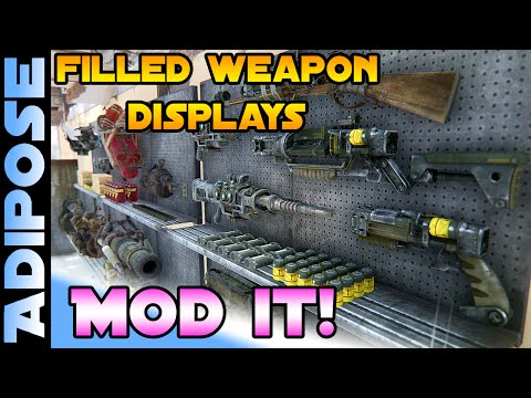 Filled Weapon Displays - MOD IT! #34 - Fallout 4