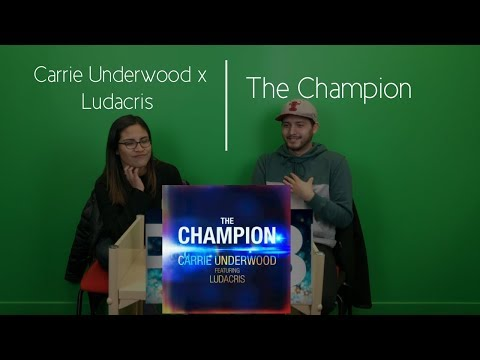 Video Carrie Underwood Ft.  Ludacris | The Champion (Audio) Reaction | The Millennial Chisme download in MP3, 3GP, MP4, WEBM, AVI, FLV January 2017