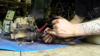 7. HOW TO: Front Differential Rebuild for Grizzly 660