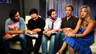The Big Bang Theory Cast at Comic Con 2009 - The Ausiello Files - 2009