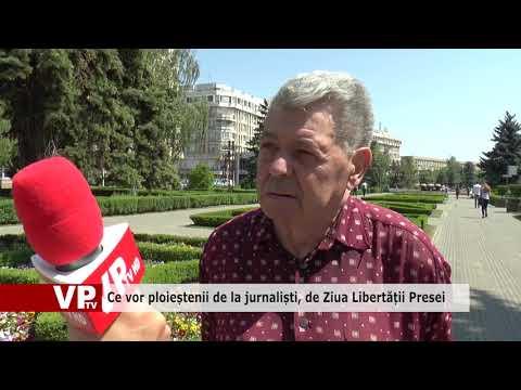 Ce vor ploieștenii de la jurnaliști, de Ziua Libertății Presei