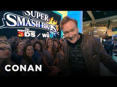 Conanova návštěva herního veletrhu E3 2014