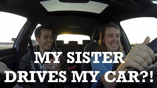 My Sister Learns to Drive Stick on my VW GTI! by Ignition Tube