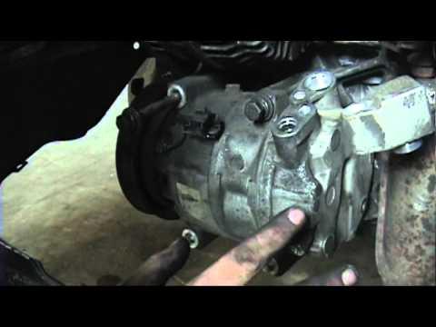 1995-2003 Nissan Maxima: AC compressor replacement
