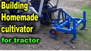 I'm building a cultivator for minitractior in this video.Homemade lathe for wood: https://www.youtube.com/watch?v=Ck_EL33PMg0Planting potatoes using a garden tractor: https://www.youtube.com/watch?v=OnQXoD3h58oHilling potatoes using a garden tractor: https://www.youtube.com/watch?v=gIqg-h6QAgoHomemade garden tractor digging potatoes: https://www.youtube.com/watch?v=wDgu18zQaQwMy homemade garden tractor: https://www.youtube.com/watch?v=Mt5xFKd0vAcThe process of assembling my garden tractor: https://www.youtube.com/watch?v=3JkUFFnmglkLiberal DIY: https://www.youtube.com/channel/UCfy35XU-M9w-jXmNUsO--fA