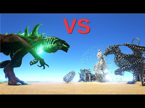 Godzillark vs Overseer (ENDBOSS) || ARK: Survival Evolved || Cantex