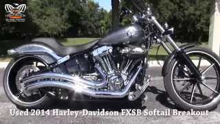 5. Used 2014 Harley Davidson FXSB Softail Breakout