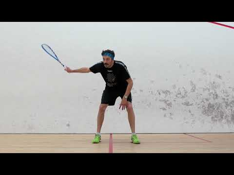 Squash tips: Learn to vary the length of your follow through