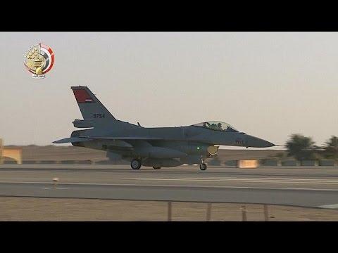 H Aίγυπτος «χτυπά» τους τζιχαντιστές στη Λιβύη