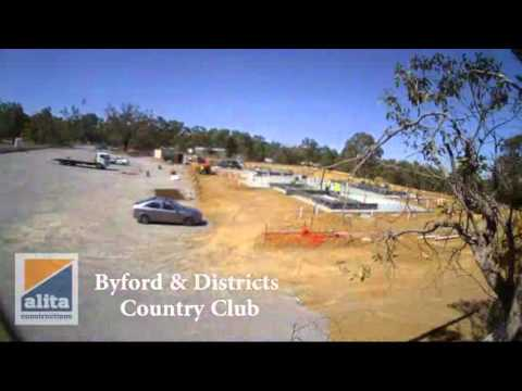 Byford & Districts Country Club Panel Lift