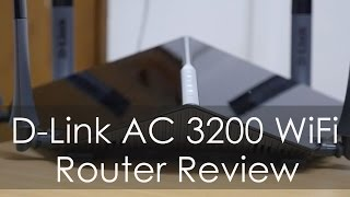 D-LINK AC3200 WiFi High Performance Router Review (DIR 890L)