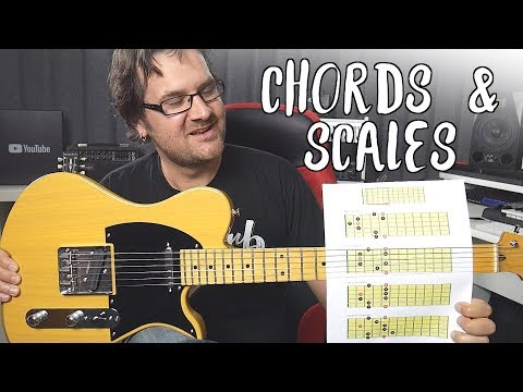 How To Blend Chords And Scale For Super Melodic Solos