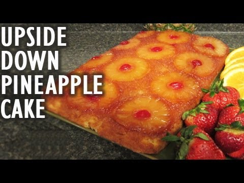 Upside down pineapple cake recipe (cooking with The290ss)