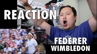 Roger Federer continues to make history. He wins his 8th Wimbledon title and 19th Grand Slam. Here's my reaction to his last 3...