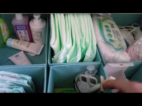 Organizzazione fasciatoio - cassettiera Malm Ikea