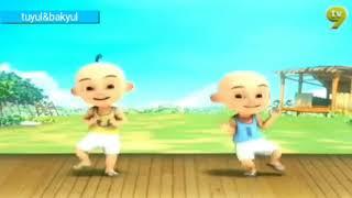 Upin Ipin bahasa Banjar,,, khas desa dangu