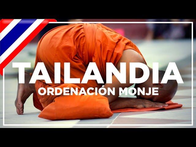 Asistimos a la ordenación de un monje (en thai 'Phiti bwach' พิธีบวช)