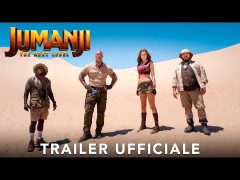 Preview Trailer Jumanji: The Next Level, trailer ufficiale italiano