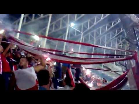 Recibimiento contra Racing - La Barra de la Bomba - Unión de Santa Fe