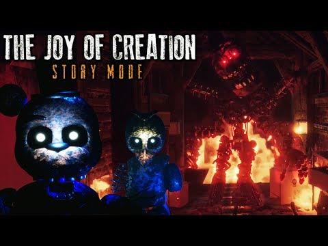 I FINALLY BEAT IT!! | The Joy of Creation: Story Mode | ENDING (видео)