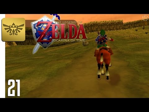 Zelda: Ocarina of Time • ONE JUMPED OVER THE LON LON RANCH • Part 21 • Taigison Gaming
