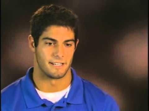 Jimmy Garoppolo Interview OVC Football Media Day 2012 video.