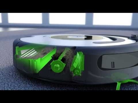 iRobot Roomba seria 600 w akcjii