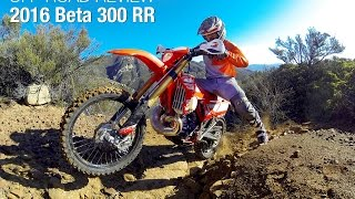 9. 2016 Beta 300 RR Two-Stroke Review - MotoUSA