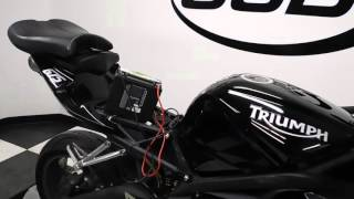 10. 2009 Triumph Daytona 675 Black - used motorcycle for sale - Eden Prairie, MN
