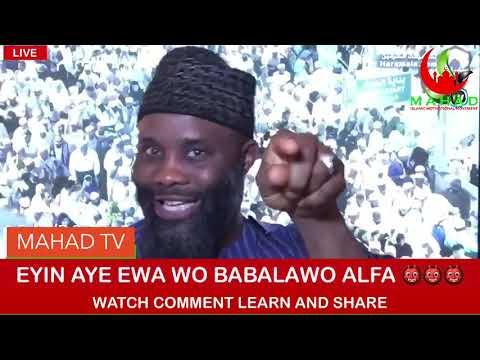 EYIN AYE EWA WO BABALAWO 👹👹👹ALFA WATCH COMMENT LEARN AND SHARE
