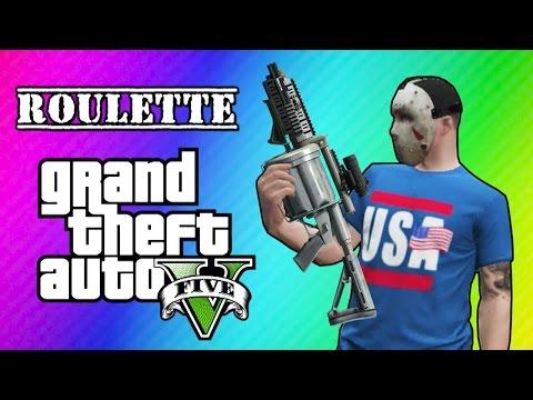 GTA 5 Online: Car Roulette (Grenade Launcher Glitch Mini Game)