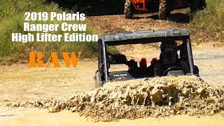 10. 2019 Polaris Ranger Crew XP 1000 High Lifter Edition RAW mud Action