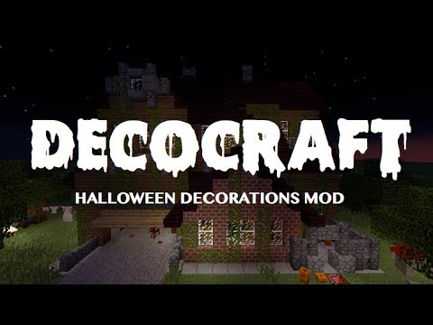 [1.6.4] DecoCraft Mod! – Halloween Decorations for Minecraft!
