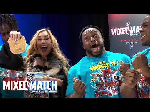 Carmella finds her WWE Mixed Match Challenge New Day partner in a box of Booty-O's