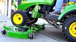 10. How-To: Install and Remove a John Deere 60D Drive Over Mower Deck