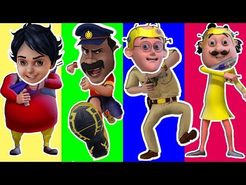 Wrong Head Funny Motu Patlu Shiva in Mission Moon Wrong matching game fun for kids