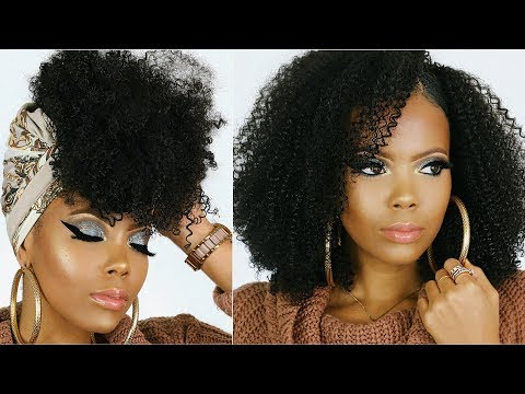 Curly hairstyles - HOLIDAY HAIRSTYLESCLIP-INS FOR NATURAL HAIRKINKY CURLY CLIP-IN EXTENSIONS FOR BEGINNERS TASTEPINK