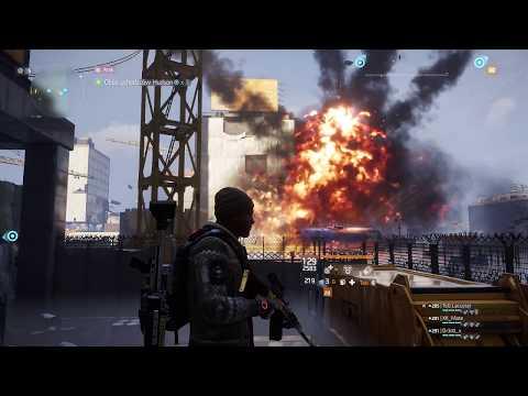 The Division gameplay - Obóz uchodźców Hudson