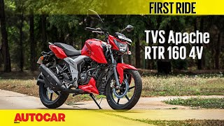 Download Lagu TVS Apache RTR 160 4V | First Ride | Autocar India Mp3