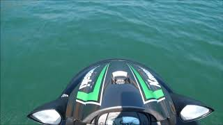 2. Kawasaki STX-15F Jet Ski Acceleration and Top Speed Test