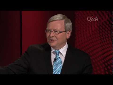 Kevin Rudd  Malcolm Turnbull on QA