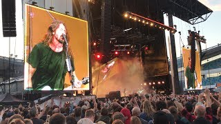 Highlights from Foo Fighters live from Ullevi 20180605 (70 min version)