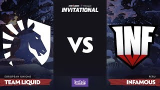 Team Liquid против Infamous, Вторая карта, Group A, SL i-League Invitational S4