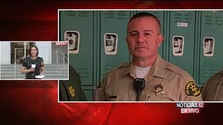 Buscan a agresor de agente del sheriff – Noticias 62 - Thumbnail